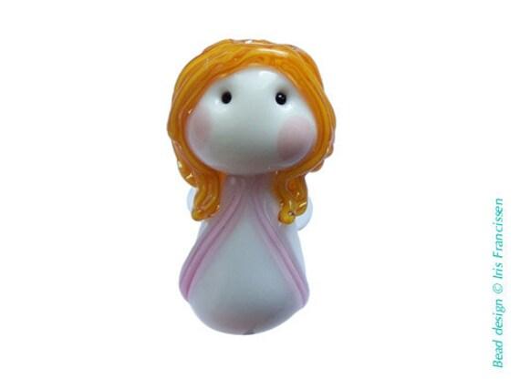 Sweet little Guardian Angel glassbead nr 5