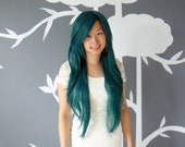 Frostbite - Teal Superlong Wig - FREE SHIPPING
