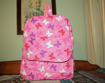 Beauitful Breast Cancer Awareness Backpack.