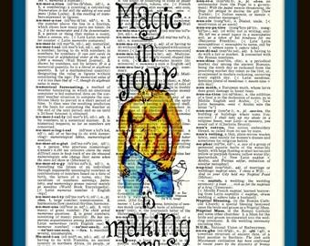 Buy Any 2 Prints Get 1 Free  Die Young Kesha Vintage Dictionary Art