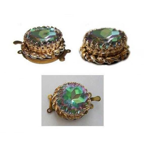 Clasp Schiaparelli jewelry box clasp One of a kind DaliChic