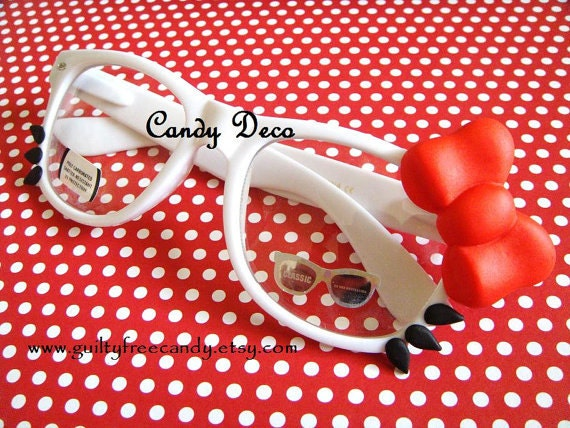 iCat Fashion Glasses (Red)