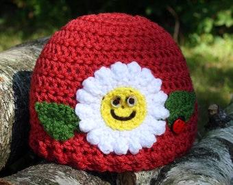 Happy Little Flower Girl