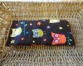 Hot-Cold Therapy Bag for Kids Boo Boos and an Eye Pillow - Moonlight Owls