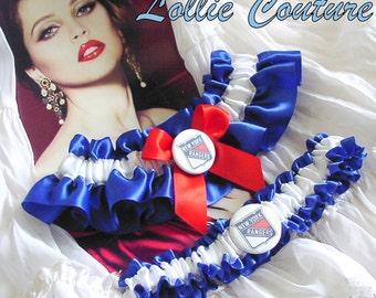 NY Rangers custom wedding lingerie