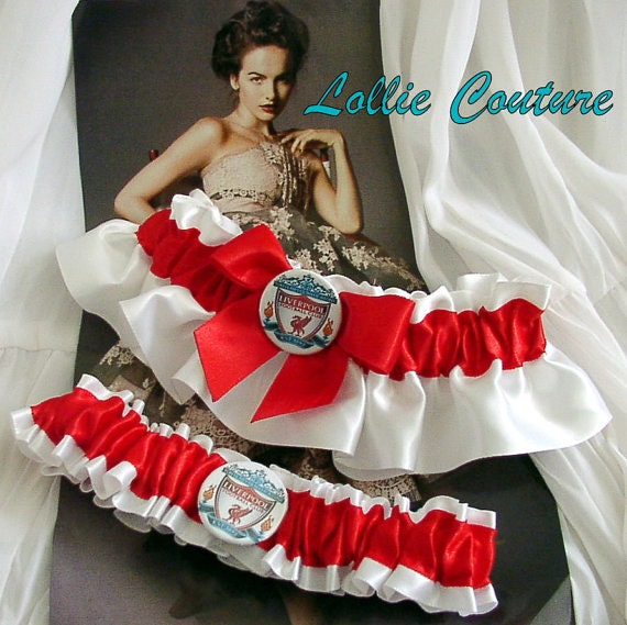 Liverpool garters, Wedding Garter sets, bridal garters