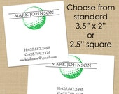 Golf Ball - 50 CUSTOM Business or Calling Cards