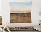 Free with Confidence - Original Watercolor Seascape