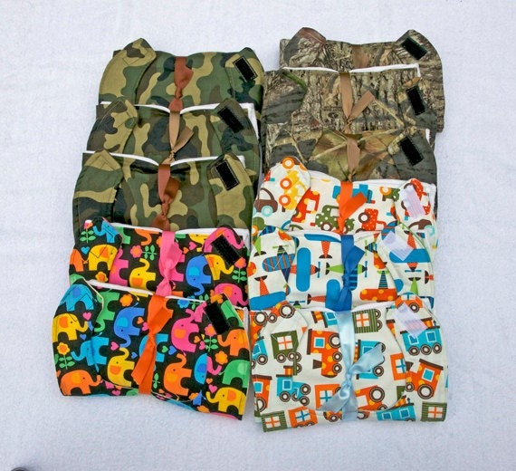 CUSTOM ORDER - KORI - 11 Bib and Diaper Burp Cloth sets