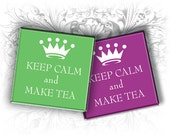 Keep Calm 1 Inch Square Images Digital Collage Sheet Ready to Print