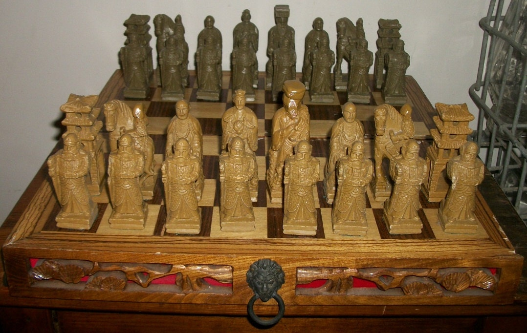 Korean Soapstone Chess Set