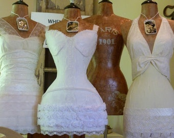Wedding Dress Form Mannequin Shower Decoration Gift Vintage Inspired  LAYAWAY AVAILABLE