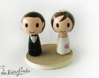 2.75 inches Big Customise Wedding Cake Topper