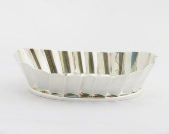 Brazilian Modernist Silver Bowl