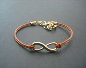 Golf Bracelet, Gold plated Infinity Bracelet, Friendship Bracelet