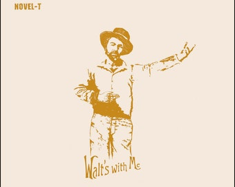 Walt's With Me Tote Bag (Special Edition) - Walt Whitman - Leaves Of Grass - Novel-T Tote - Book Reader gift