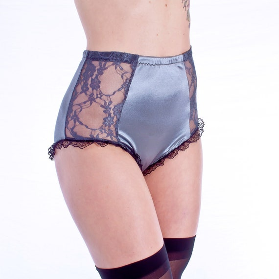 Only US$, shop High Waisted Lace Perspective Cotton Crotch Panties at cybergamesl.ga Buy fashion Briefs online.