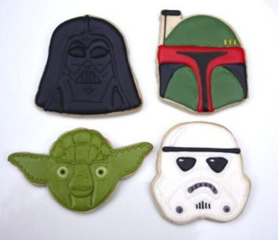 One Dozen Star cookie favors Wars