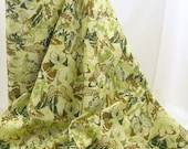 Indian Summer Meadow Gold Butterflies from Hoffman - 1 YD - FabricFascination