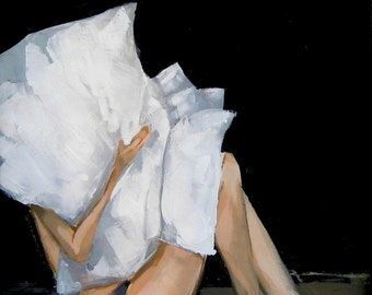 Quiet . giclee art print