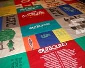 STADIUM BLANKET Custom T-Shirt Blanket
