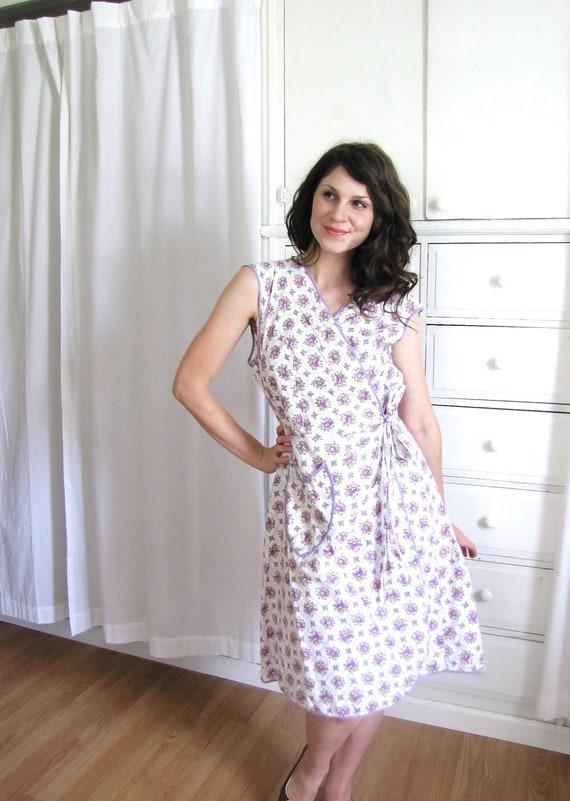 1940s Wrap Dress / 40s Dress