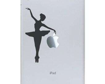 Ballerina iPad Mini Decal - Apple iPad Mini stickers - Ballerina Tablet Decal