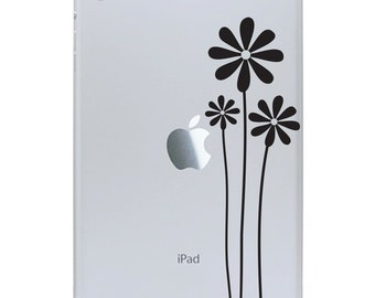 Wildflowers iPad Mini Decal - Wild Flowers Decal - Tablet Sticker