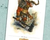 The Minotaur-Print