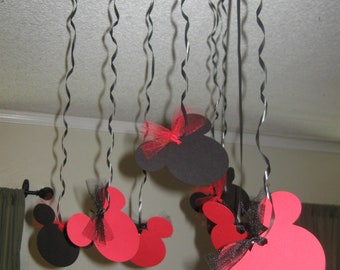 Mickey Mouse Birthday streamers Minnie Mouse Birthday Party Streamers 10