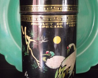 Vintage Tin for SPECIAL TEA