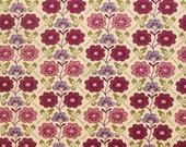Liberty tana lawn printed in Japan -  Cordelia  -  Raspberry