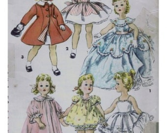"Sewing pattern for Sweet Sue doll or similar 18"" doll AG Katie  - 53 pages PDF Doll clothes Dresses Party"