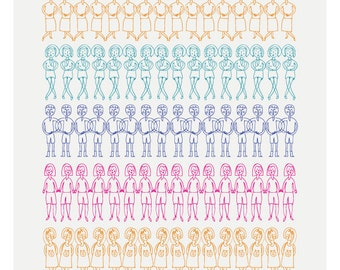 Duplicated Friends Print - Different Sizes