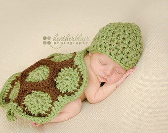 Baby boy hat, baby girl hat, turtle, baby cape, turtle cape, photo prop, crochet turtle, baby shower gift, newborn turtle, crochet baby