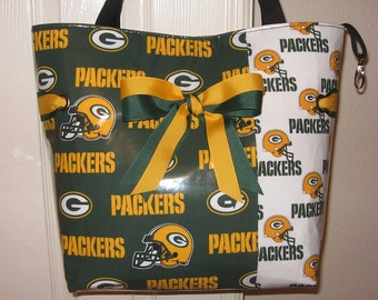 Large  Green Bay Packers Tote Bag