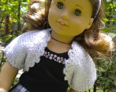 Plaid skirt set for American Girl or other 18 inch dolls