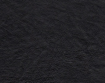 "3535A -  Genuine Leather/Black/Recycled/15""x7""/Soft and Supple/Light wt/Woolen Crow Price 6.75/Leather craft supplies/leather accessories"