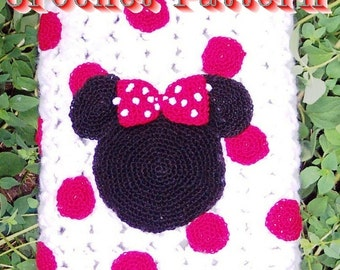 Girl Mouse eBook Cozy Crochet Pattern PDF - INSTANT DOWNLOAD.