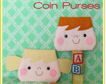Penny and Bob Purses Pattern