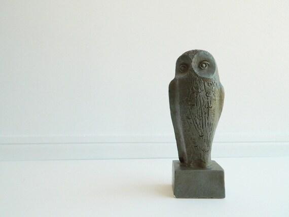 Modernist Austin Productions Owl Sculpture 1970