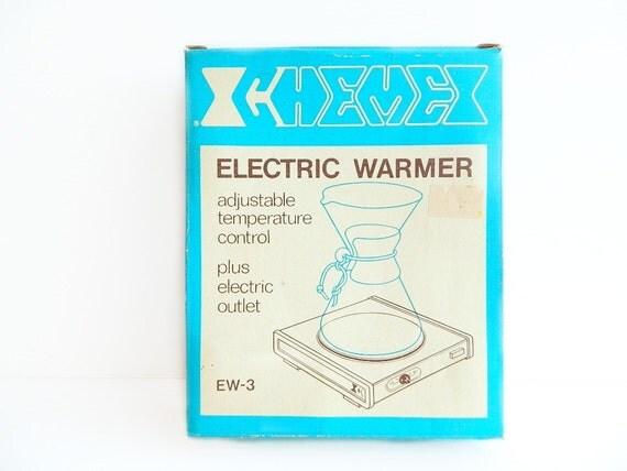 Vintage Chemex Electric Coffee Warmer Hot Plate