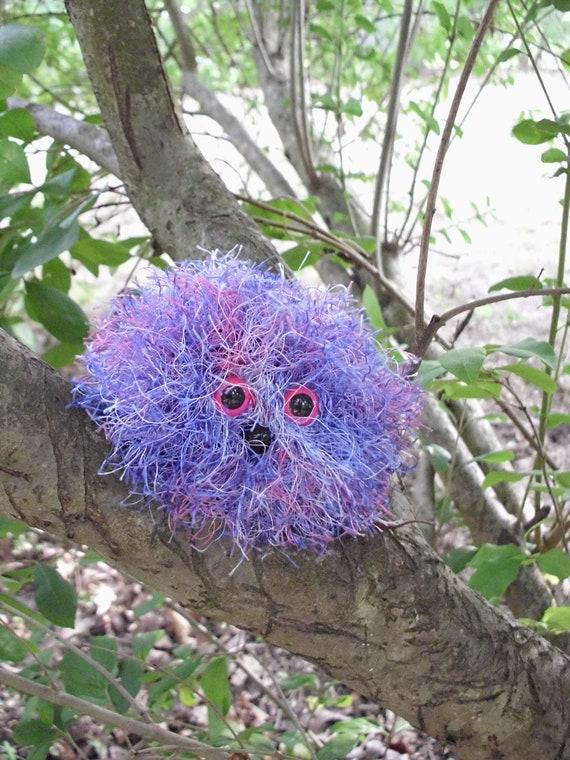 Fuzzy Wishing WumPet, Violet, Soft Plush Pet