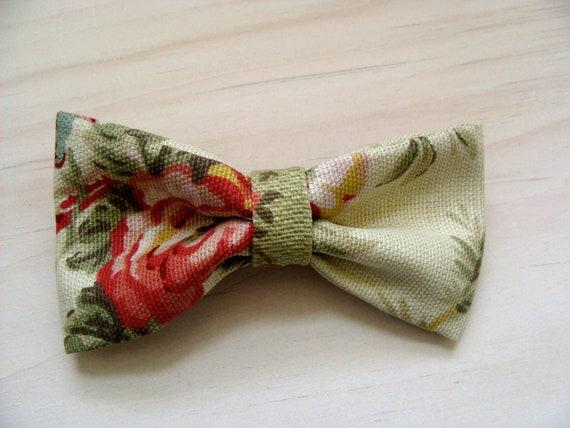 Vintage Carnation - Fabric Hair Bow