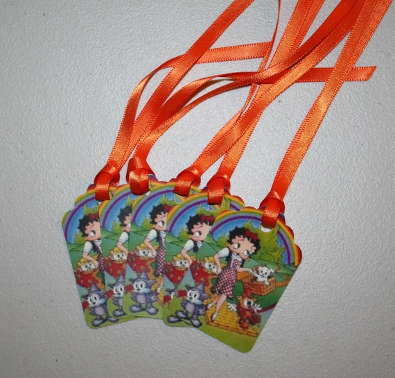 Gift Tags Betty Boop Wizard of Oz