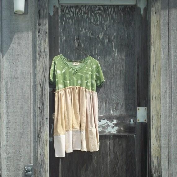 medium - xlarge -  ' Isaac Collection' Urban Chic Sweater Dress / Funky / Eco Dress / Tattered Artsy Dress / Upcycled Clothing by CreoleSha