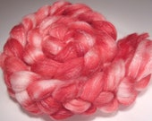 Ruby Gloss Superwash Merino bamboo nylon top 4oz