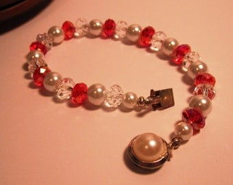Sparkle Red with Pearls