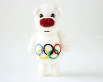 Olympic games mascot bear