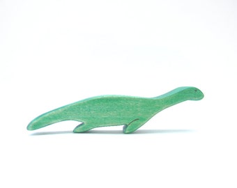 nessie waldorf toy - wooden toy - loch ness monster - nessie figurine
